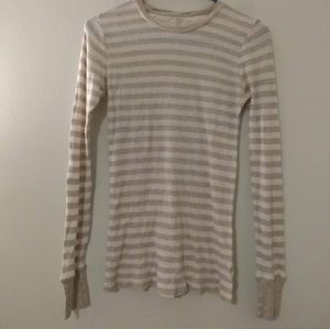 3 for $20 / Gap Thermal Striped Shirt